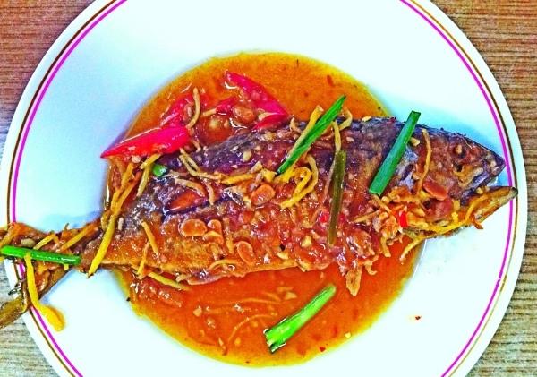 ปลาซาบะราดพริก