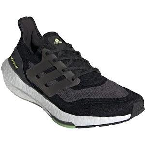 รองเท้าวิ่งผู้ชาย ADIDAS Black ADIDAS Ultraboost 21