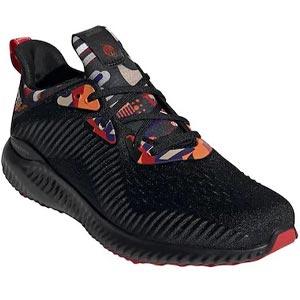 รองเท้าวิ่งผู้ชาย ADIDAS Black ADIDAS Alphabounce 1