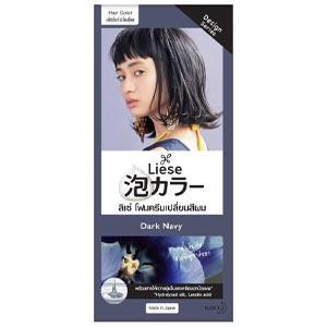 ลิเซ่ บับเบื้ล โฟมเปลี่ยนสีผม ดาร์ก เนวี Liese Bubble Dark Navy