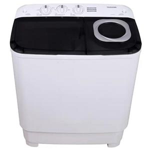 TOSHIBA รุ่น VH-H85MT เครื่องซักผ้าถังคู่ฝาบน