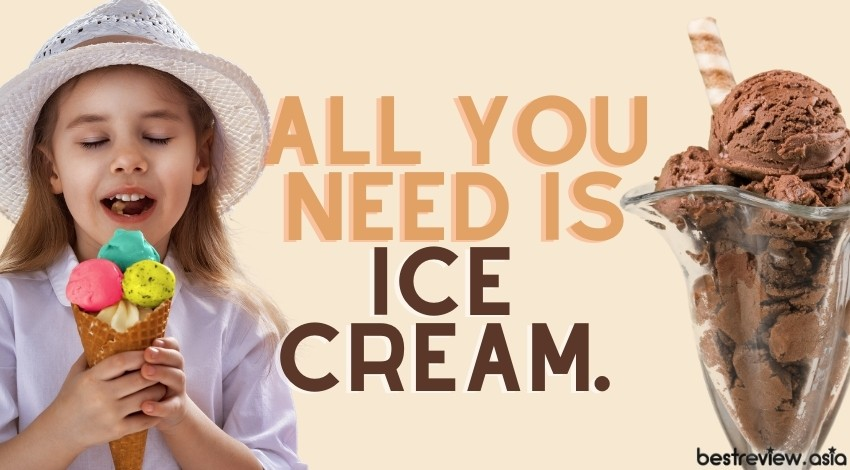 All you need is ice cream.ทุกสิ่งที่ต้องการในตอนนี้คือไอติม!!! :)