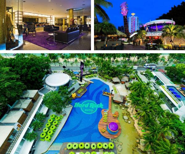 โรงแรมฮาร์ดร็อค พัทยา (Hard Rock Hotel Pattaya)