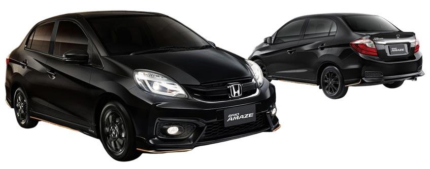 Honda Brio Amaze ราคาเริ่มต้นที่ 517,000 บาท