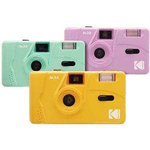 Kodak Film Camera กล้องฟิล์ม เปลี่ยนฟิล์มได้ รุ่น M35