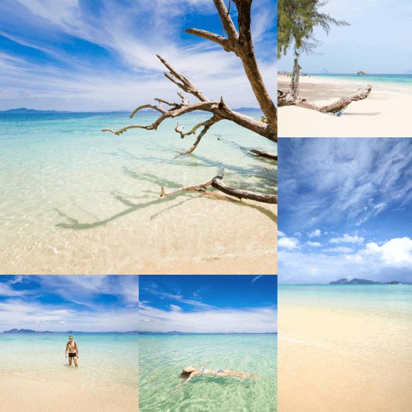 หาดบนเกาะกระดาน