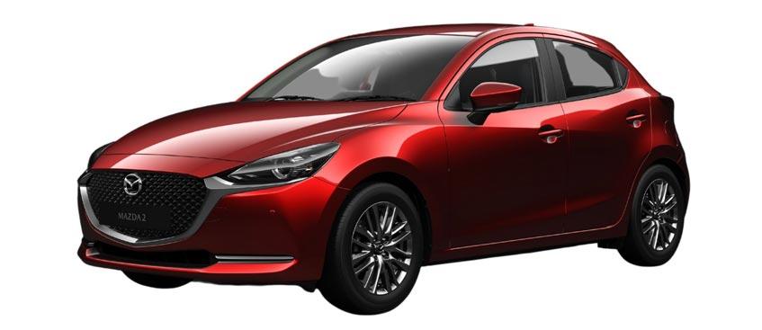 Mazda 2 Hatchback1.3 ราคาเริ่มต้น 546,000 บาท
