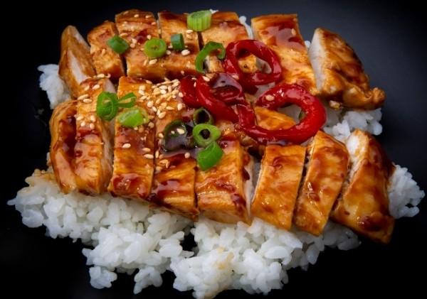 ข้าวอบไก่เทอริยากิ