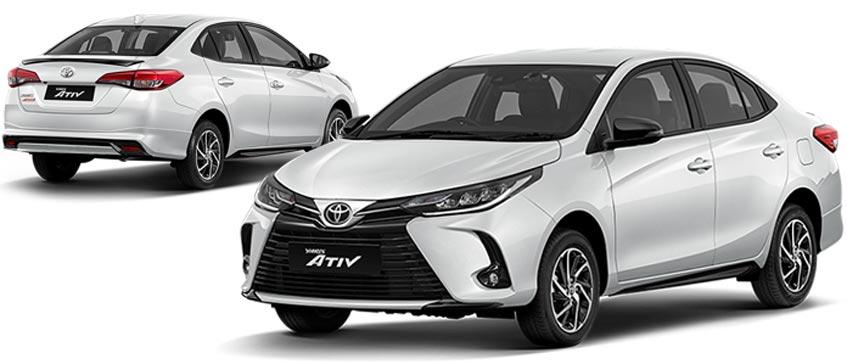 Toyota Yaris ATIVราคาเริ่มต้น 539,000 บาท