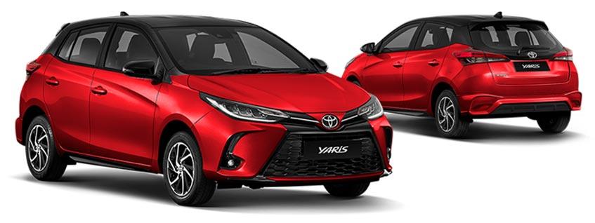 Toyota Yarisราคาเริ่มต้น 549,000 บาท