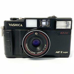 Yashica กล้องฟิล์ม คอมแพค ระบบออโต้ รุ่น MF-2 Camera Super DX