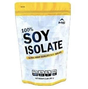 [MS เวย์ เอ็มเอสเวย์] MS SOY ISOLATE เวย์ซอยโปรตีนถั่วเหลือง เพิ่มกล้ามเนื้อลดไขมัน ขนาด 0.9 กิโลกรัมต่อถุง