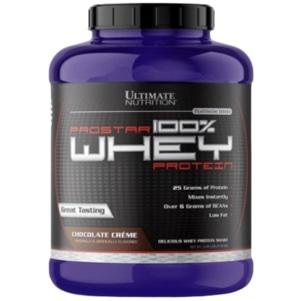 [อัลติเมท นิวทริชั่น] Ultimate Nutrition Prostar Whey Protein เวย์โปรตีน เพิ่มกล้ามเนื้อ ลดไขมัน ขนาด 2.3 กิโลกรัม (5.28 ปอนด์)