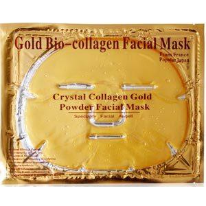 หน้ากากมาร์คหน้าทองคำ Gold Bio-Collagen facial mask