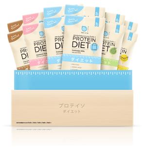 DAIATO Protein Diet : ไดเอโตะ โปรตีนไดเอท ช่วยลดน้ำหนัก ขนาด 1 กล่อง (15 ซอง)