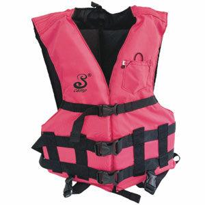เสื้อชูชีพรุ่น T001 แบบพยุงตัว สำหรับเล่นกิจกรรมทางน้ำ