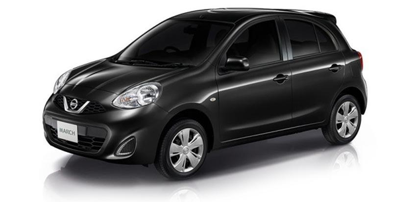 Nissan March ราคาเริ่มต้น 420,000 บาท