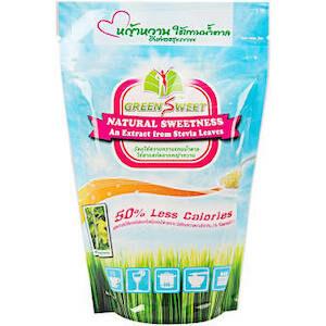 น้ำตาลหญ้าหวานจาก Green Sweet