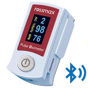 Rossmax เครื่องวัดระดับออกซิเจนปลายนิ้ว รุ่น SB210