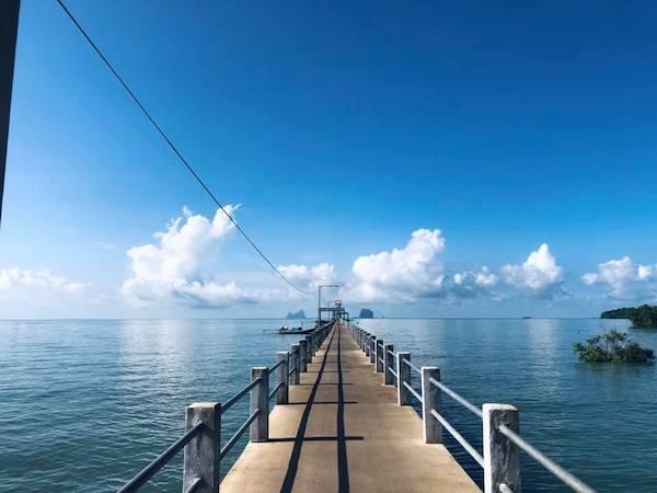 สะพานหลีกภัย เกาะลิบง