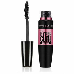 มาสคาร่า MAYBELLINE New York Hypercurl Mascara Easy Wash Black