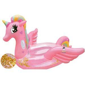แพยาง Pony Glitter Medium Size ห่วงยาง โพนี่