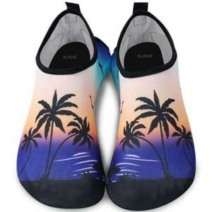 รองเท้าเดินชายหาด รองเท้าเล่นน้ำทะเล แบบพื้นหนา