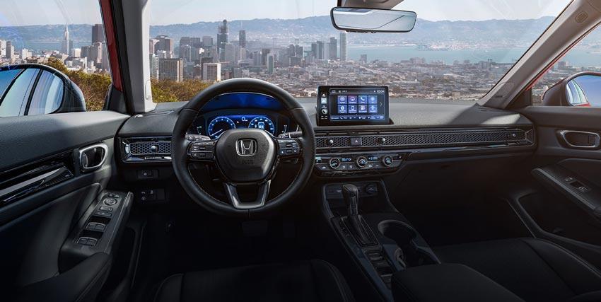 ห้องโดยสารของ All-New Honda Civic 11th Generation
