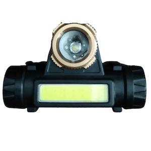 ไฟฉายคาดหัว ไฟฉายคาดหัวขนาดมินิ ไฟหน้า LED ชาร์จได้ ปรับซูมได้ รุ่น T6-01
