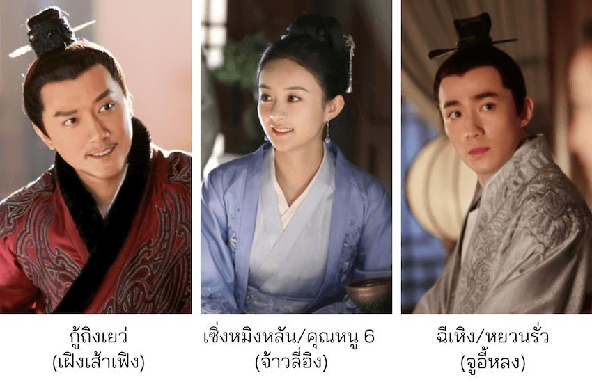 นักแสดงหลัก The Story of Ming Lan