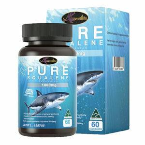 น้ำมันตับปลา Auswelllife Pure Squalene Tasmanian