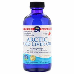 น้ำมันตับปลา Nordic Naturals Arctic Cod Liver Oil Strawberry