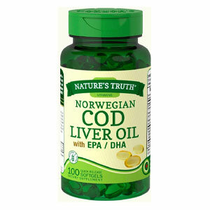 Nature's Truth Cod Liver Oil น้ำมันตับปลา