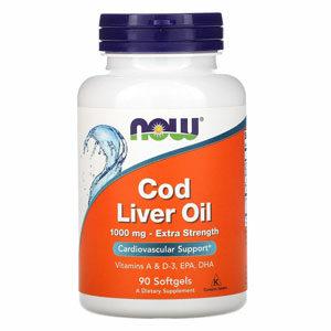 Now Foods Cod Liver Oil น้ำมันตับปลา