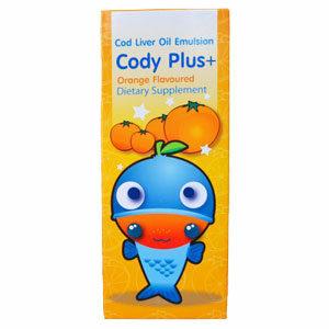 Cody Plus น้ำมันตับปลา รสส้ม