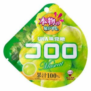 UHA Kororo เยลลี่จากญี่ปุ่น ทำจากน้ำผลไม้ 100% รสองุ่นมัสคัส