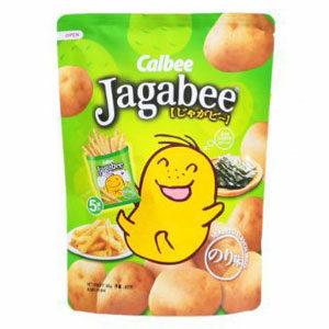 Calbee Jagabee มันฝรั่งแท่งจากญี่ปุ่น รสโนริสาหร่าย