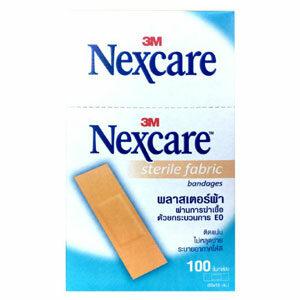 3M Nexcare Sterile Fabric พลาสเตอร์ยา แบบผ้า