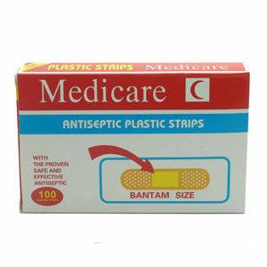 พลาสเตอร์ยา ปิดแผล Medicare Strips