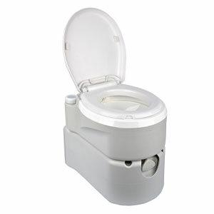 ห้องน้ำเคลื่อนที่ Portable toilet Seniors Plus for eldery