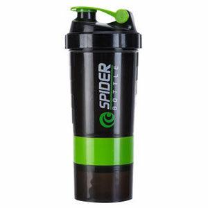 กระบอกเชคเวย์โปรตีน แก้วเชคเวย์ Spider Bottle Shaker