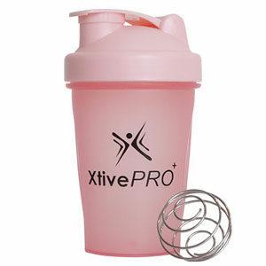 XtivePro แก้วเชคโปรตีน แถมลูกเหล็กสแตนเลส แก้วชงโปรตีน