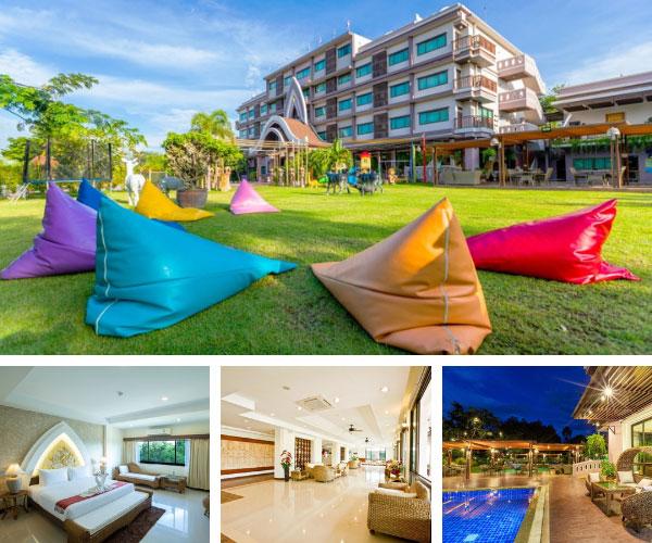 โรงแรมพนมรุ้งปุรี (Phanomrungpuri Hotel)
