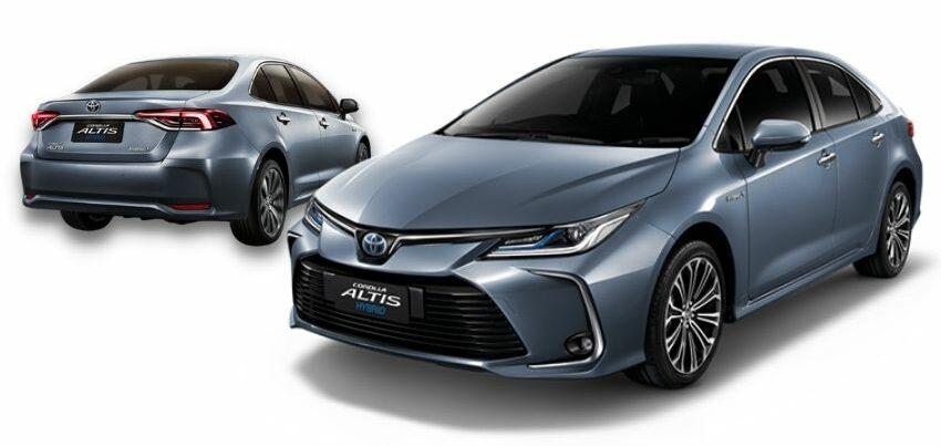 Toyota Corolla Altis Hybrid Premium Safety (สี Celestite Gray)