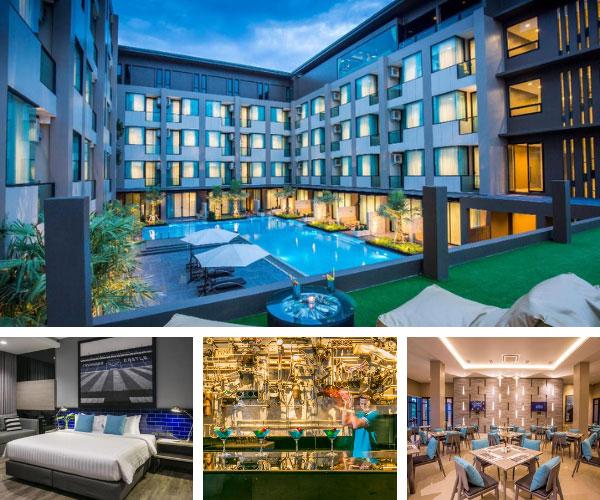 โรงแรมครอสทู ไวบ์ บุรีรัมย์ (X2 Vibe Buriram Hotel)