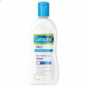 สบู่เหลวสูตรอ่อนโยน Cetaphil Pro AD Derma Skin Restoring Wash