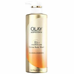 ครีมอาบน้ำทำความสะอาด OLAY Body Science Hydrating Cream Body Wash