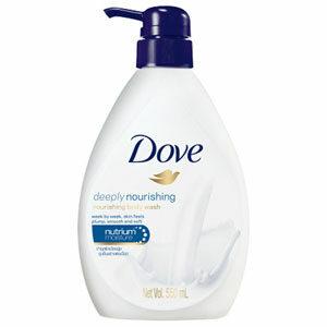 ครีมอาบน้ำ Dove Liquid Soap Deeply Nourishing Dark Blue