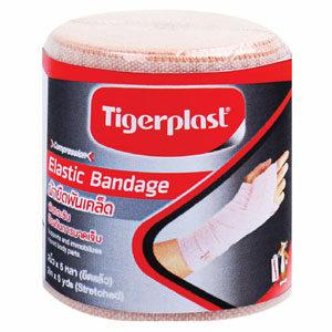 Tigerplast ผ้ายืดพันเคล็ด ผ้าพันพยุงกล้ามเนื้อ