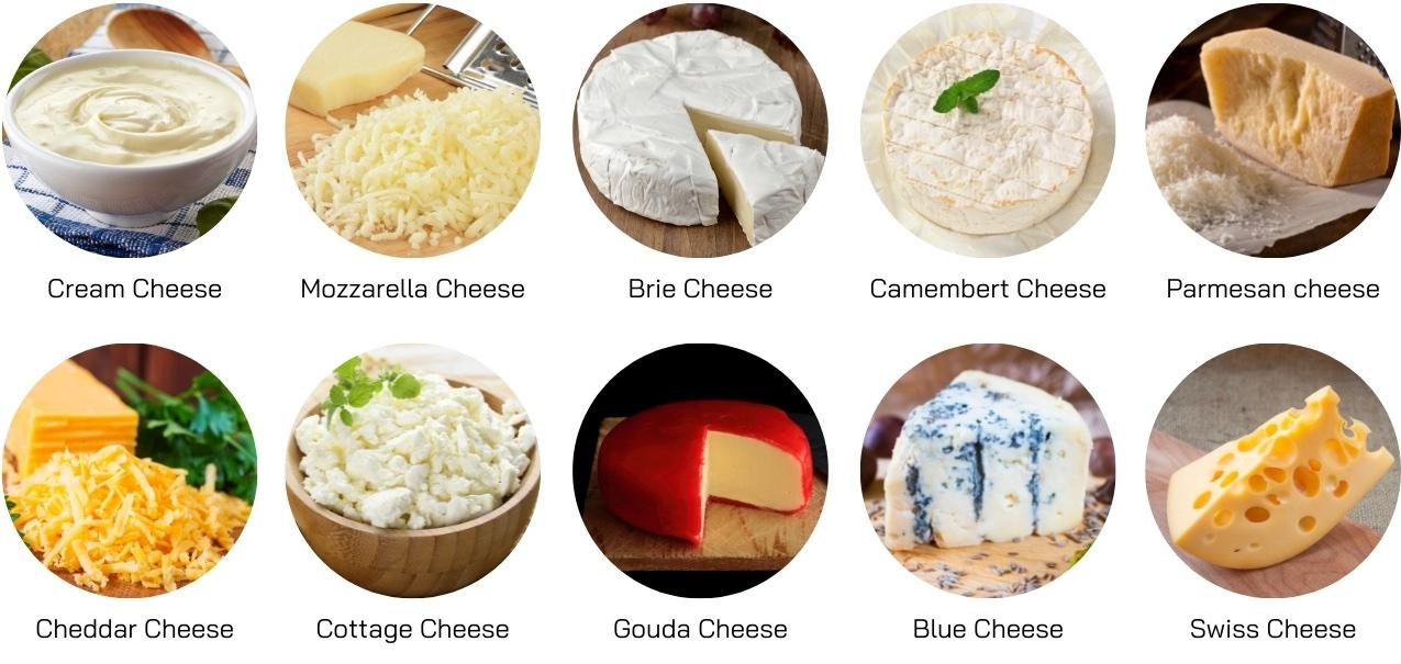 Cheese ชิสมีกี่ชนิด